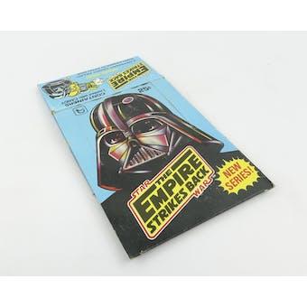 Star Wars Empire Strikes Back Series 2 EMPTY Wax Box (1980 Topps) (Reed Buy)