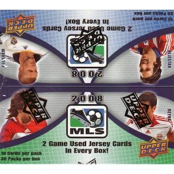 2008 Upper Deck MLS Major League Soccer Box