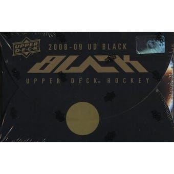 2008/09 Upper Deck Black Hockey Hobby Box