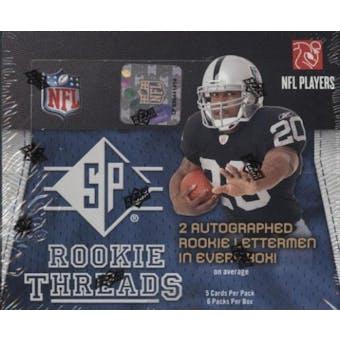 2008 Upper Deck SP Rookie Threads Football Hobby Box