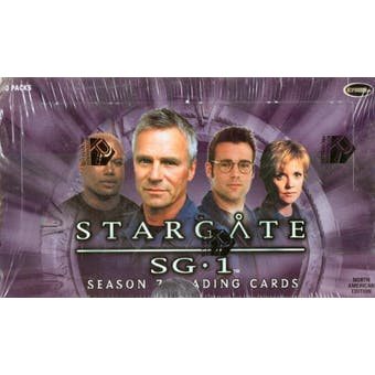 Stargate SG-1 Season 7 Trading Cards Box (Rittenhouse 2005)