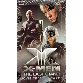 X-Men The Last Stand Movie Trading Cards Box (Rittenhouse 2006)
