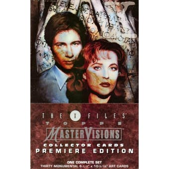 X-Files Master Visions Collectors Box (1995 Topps)