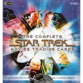 Star Trek The Complete Movie Trading Cards Box (Rittenhouse 2007)