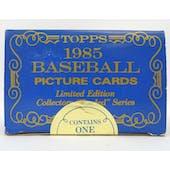 1985 Topps Tiffany Traded Baseball Factory Set (Reed Buy)