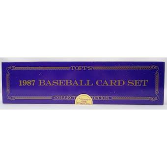 1987 Topps Tiffany Baseball Factory Set (Reed Buy)