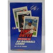 1991 Line Drive Double A (AA) Baseball Wax Box (Reed Buy)