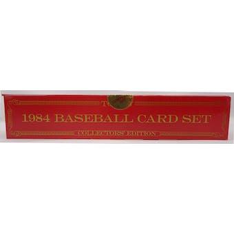1984 Topps Tiffany Baseball Factory Set (Reed Buy)