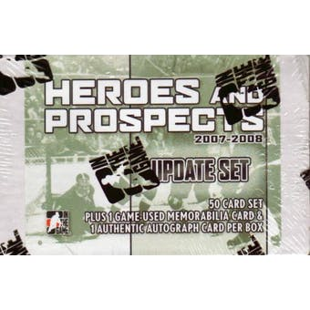 2007/08 In The Game Heroes & Prospects Hockey Update Set (Box)