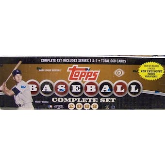 2008 Topps Factory Set Baseball Hobby (Box)