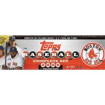 2008 Topps Factory Set Baseball (Box) (Boston Red Sox)