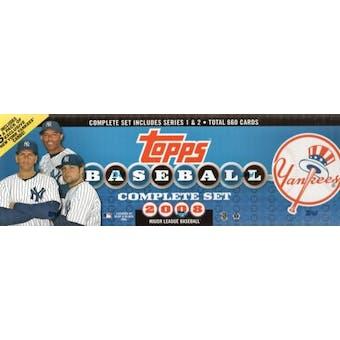 2008 Topps Factory Set Baseball (Box) (New York Yankees)