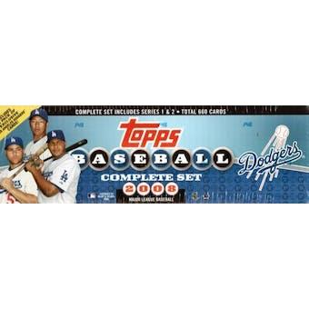 2008 Topps Factory Set Baseball (Box) (Los Angeles Dodgers)