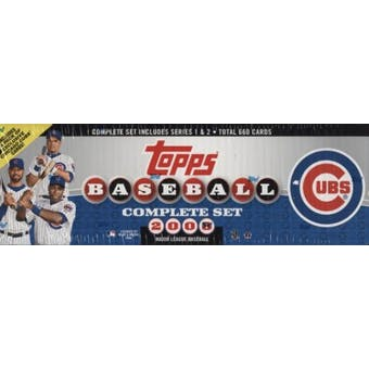 2008 Topps Factory Set Baseball (Box) (Chicago Cubs)