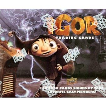 Igor Trading Cards Hobby Box (2008 Upper Deck)