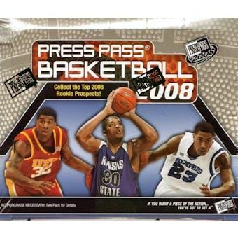 2008/09 Press Pass Basketball Hobby Box