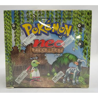 Pokemon Neo Discovery 1st Edition Booster Box (Reed Buy)