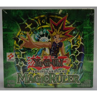Yu-Gi-Oh Magic Ruler 1st Edition Booster Box (24-Pack) (Reed Buy)