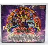 Yu-Gi-Oh Labyrinth of Nightmare 1st Edition Booster Box (24-Pack) (Reed Buy)