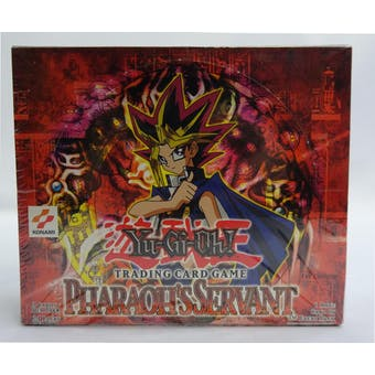 Yu-Gi-Oh Pharaoh's Servant 1st Edition Booster Box (24-Pack) (Reed Buy)