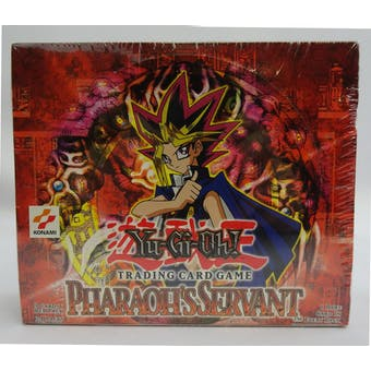 Yu-Gi-Oh Pharaoh's Servant Unlimited Booster Box (24-Pack) (Reed Buy)