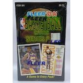 1993/94 Fleer Series 2 Basketball Hobby Box (Reed Buy)