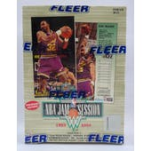 1993/94 Fleer NBA Jam Session Basketball Hobby Box (Reed Buy)