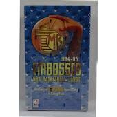 1994/95 Topps Embossed Basketball Hobby Box (Reed Buy)