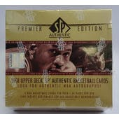 1997/98 Upper Deck SP Authentic Basketball Hobby Box (Reed Buy)
