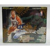 1998/99 Fleer Brilliants Basketball Hobby Box (Reed Buy)