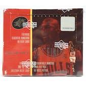 1998/99 Upper Deck SPx Finite Series 1 Basketball Hobby Box (Reed Buy)