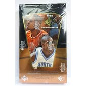 1998/99 Upper Deck SP Top Prospects Basketball Hobby Box (Reed Buy)