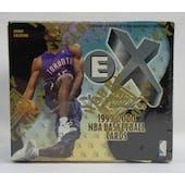 1999/00 Skybox E-X Basketball Hobby Box (Reed Buy)
