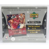 2005/06 Upper Deck Portraits Basketball Hobby Box (Reed Buy)