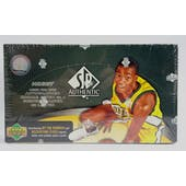 2007/08 Upper Deck SP Authentic Basketball Hobby Box (Reed Buy)