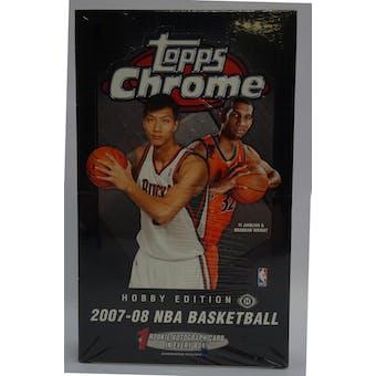 2007/08 Topps Chrome Basketball Hobby Box (Reed Buy)