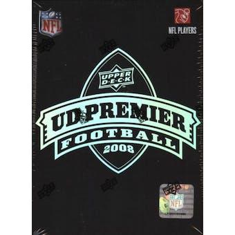 2008 Upper Deck Premier Football Hobby Box