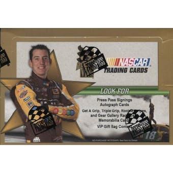 2008 Press Pass VIP Racing Hobby Box
