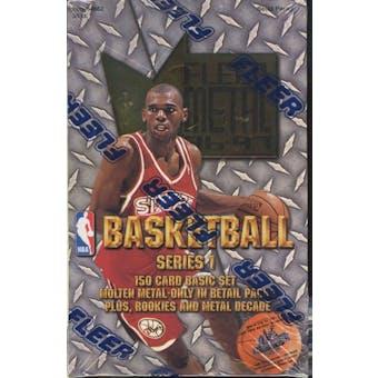 1996/97 Skybox Metal Series 1 Basketball Retail Box