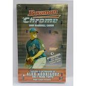 2005 Bowman Chrome Baseball Hobby Box (Reed Buy)