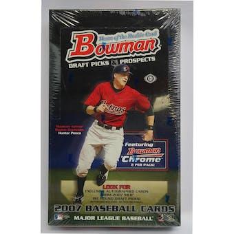 2007 Bowman Draft Picks & Prospects Baseball Hobby Box (Reed Buy)