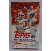 2013 Topps Update Baseball Hobby Box (Reed Buy)