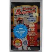 2000 Bowman Football Jumbo Box (Reed Buy)