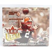 2000 Fleer Ultra Football Hobby Box (Reed Buy)