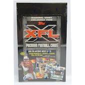 2001 Topps XFL Football Hobby Box (Reed Buy)