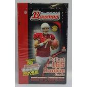 2006 Bowman Football Jumbo Box (Reed Buy)