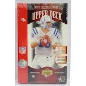 2006 Upper Deck Football Hobby Box (Reed Buy)