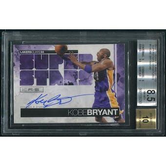 2010/11 Panini Rookies And Stars #1 Kobe Bryant Superstars Auto #46/49 BGS 8.5 (NM-MT+)