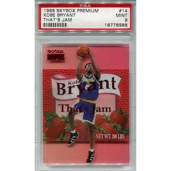 1998/99 Skybox Premium That's Jam #14 Kobe Bryant PSA 9 *8988 (Reed Buy)