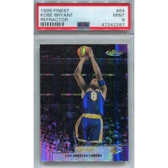 1999/00 Finest Refractor #64 Kobe Bryant PSA 9 *2287 (Reed Buy)